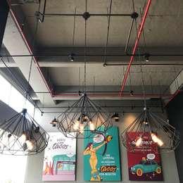 techo y arte: Locales gastronómicos de estilo  por Ecologik