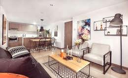 Sala comedor: Salones de estilo  por Maria Mentira Studio