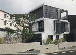 Casas de estilo industrial por 石方室內裝修有限公司