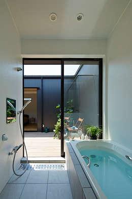 大原の家: arc-dが手掛けた浴室です。