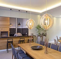 modern Dining room by GP STUDIO DESIGN DE INTERIORES