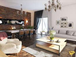 Öykü İç Mimarlık – Özel projelendirme: modern tarz Oturma Odası