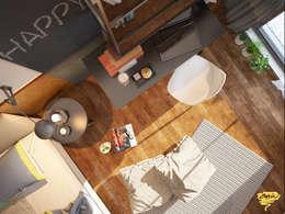 Öykü İç Mimarlık – Özel projelendirme: modern tarz Çalışma Odası