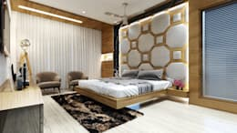 master room1: minimalistic Bedroom by quite design