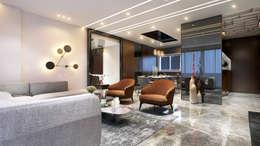 living area 4: minimalistic Living room by quite design