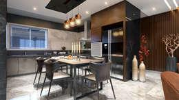 kitchen area: minimalistic Kitchen by quite design