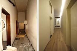 Couloir et hall d'entrée de style  par JFD - Juri Favilli Design