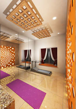 : modern Gym by Gurooji Design