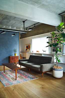 eclectic Living room by .8 / TENHACHI
