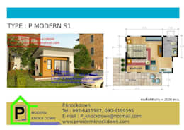 by P Knockdown Style Modern