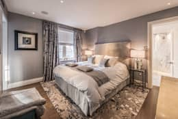 غرفة نوم تنفيذ RBD Architecture & Interiors
