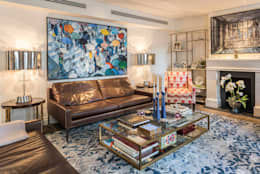 Salon de style de style Classique par RBD Architecture & Interiors
