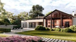 Частный жилой дом: Загородные дома в . Автор – Архитектурная студия Чадо