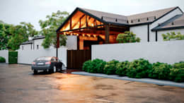 Дом в Камышевахе: Загородные дома в . Автор – Архитектурная студия Чадо