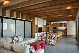 客廳 by LGZ Taller de arquitectura