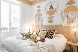 rustic Bedroom by Nghệ nhân Kiến trúc