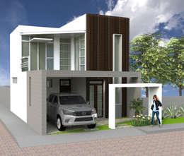 房子 by AM  Arquitectura