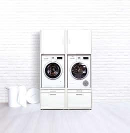 Wastoren: moderne Keuken door Verburg Agenturen B.V.