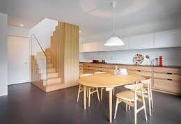 Cocinas de estilo escandinavo por Burnazzi  Feltrin  Architects