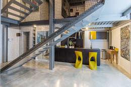 Projekty,  Kuchnia zaprojektowane przez Brengues Le Pavec architectes