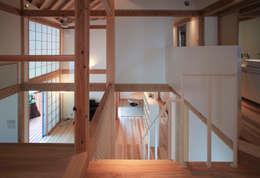 kitadoi house: 髙岡建築研究室が手掛けた廊下 & 玄関です。