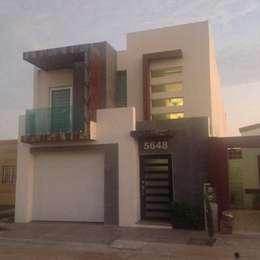 RNHOUSEONE: Casas de estilo moderno por ORO ARQUITECTURA