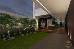 Sun House:  Koridor dan lorong by Arci Design Studio