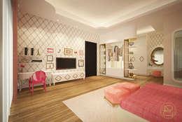 Teratai House:  Kamar Tidur by Arci Design Studio