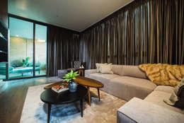 CANTAGIRONE TREPIU: Salas de estilo moderno por Munera y Molina
