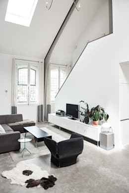 moderne Wohnzimmer von MINT Architecten