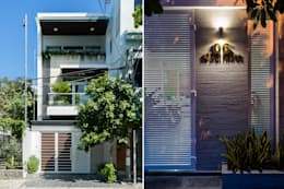 Rumah by Cty TNHH MTV Kiến trúc, Xây dựng Phạm Phú & Cộng sự - P+P Architects
