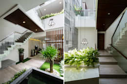 Koridor dan lorong by Cty TNHH MTV Kiến trúc, Xây dựng Phạm Phú & Cộng sự - P+P Architects