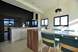 modern Dining room by 青川室內設計有限公司