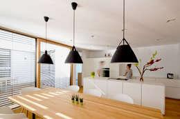 modern Dining room by PASCHINGER ARCHITEKTEN ZT KG