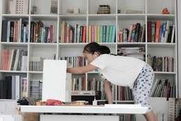 BOOK SHELF:   by NBD ARCHITECTS