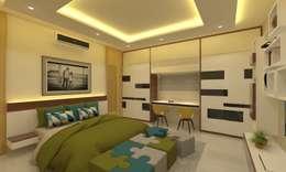 Children's Bedroom: asian Bedroom by Ravi Prakash/Architect