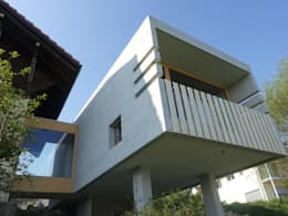 Casas unifamiliares de estilo  por zeitwerkstatt gmbh