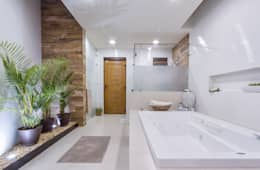 Phòng tắm by SANTIAGO PARDO ARQUITECTO