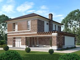 Casas de estilo rural por Vesco Construction