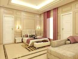 MASTER BEDROOM: classic Bedroom by CONCEPTIONS