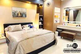 master bedroom :  Bedroom by DARI