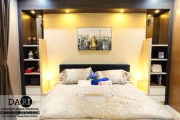 master bedroom backdrop:  Bedroom by DARI