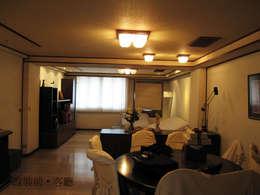 彰化T宅:   by Ho.space design 和薪室內裝修設計有限公司