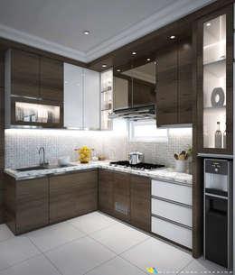 Kitchen set:  Unit dapur by Widhendra interior
