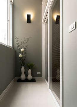 馭之境‧貳次主軸:  走廊 & 玄關 by 北歐制作室內設計