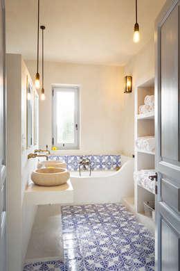 浴室 by architetto stefano ghiretti