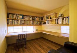 かずのいえ: 株式会社 自由工房が手掛けた書斎です。