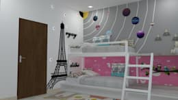 CHILDREN BED ROOM:   by FORTUNE DECOR