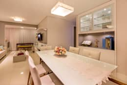 eclectic Dining room by DM ARQUITETURA E ENGENHARIA