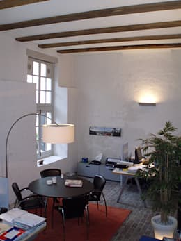 Interieur:  Kantoorgebouwen door Jan Detz Interieurarchitect
